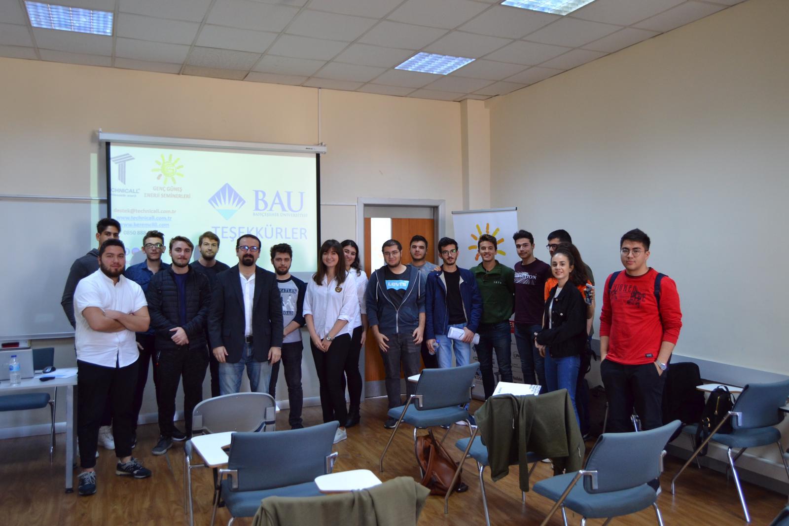 bahçeşehir üniversitesi genç gunes seminer kerem cilli