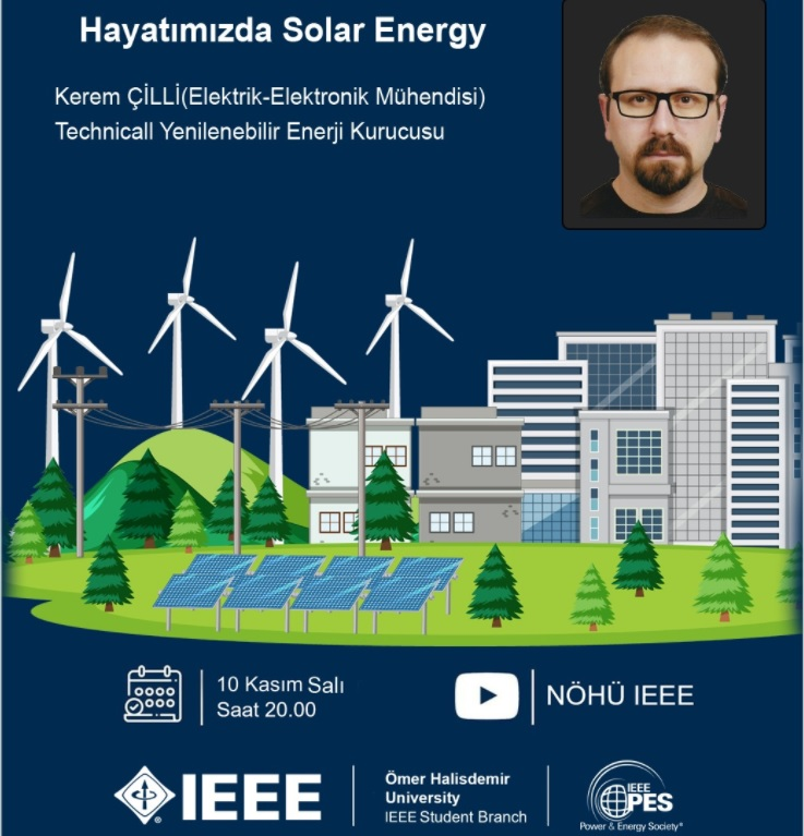 ömer halisdemir üniversitesi güneş enerjisi etkinlik